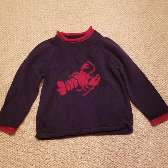 0c10676235fc2 L.L. Bean Other - L.L Bean Kid s Lobster Sweater Red Blue